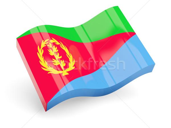 3D флаг Эритрея изолированный белый путешествия Сток-фото © MikhailMishchenko