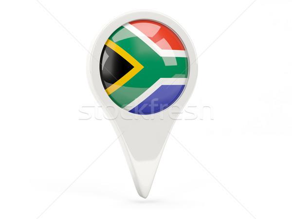 Round flag icon of south africa Stock photo © MikhailMishchenko