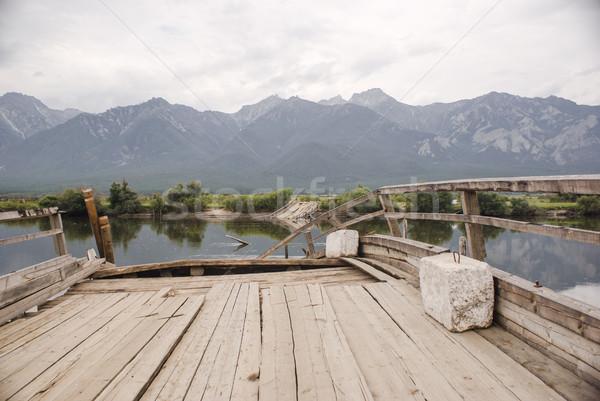 Podziale most dolinie wschodniej Zdjęcia stock © MikhailMishchenko