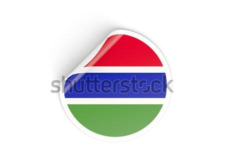 наклейку флаг Намибия изолированный белый путешествия Сток-фото © MikhailMishchenko