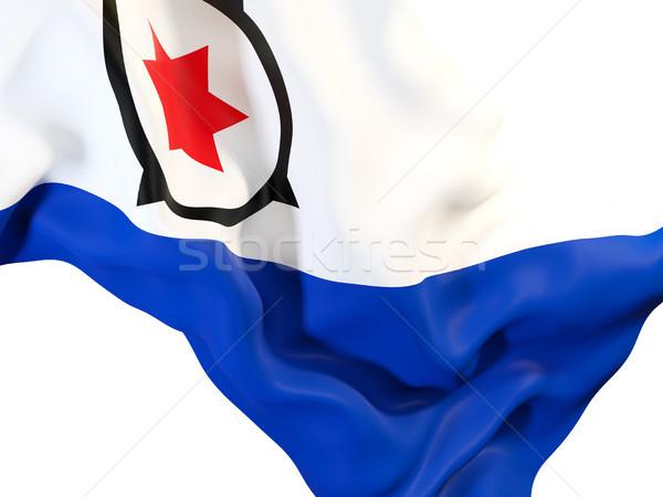 Waving flag of bonaire Stock photo © MikhailMishchenko