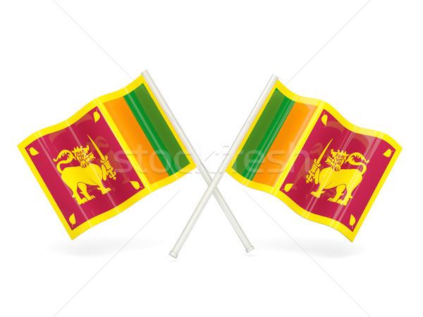 Flag of sri lanka Stock photo © MikhailMishchenko