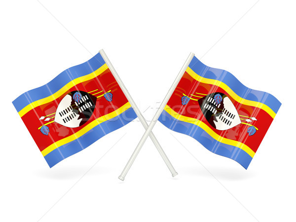 Flag of swaziland Stock photo © MikhailMishchenko