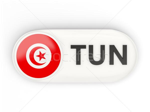 Ikon bayrak Tunus iso kod ülke Stok fotoğraf © MikhailMishchenko