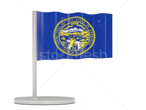 Zászló tő Nebraska Egyesült Államok helyi zászlók Stock fotó © MikhailMishchenko