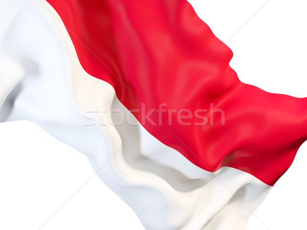 Waving flag of indonesia Stock photo © MikhailMishchenko