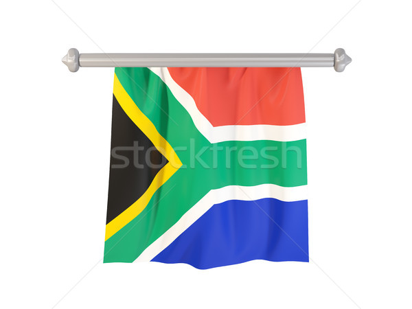 Pennant with flag of south africa Stock photo © MikhailMishchenko
