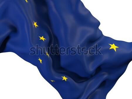 Alasca bandeira Estados Unidos local bandeiras Foto stock © MikhailMishchenko