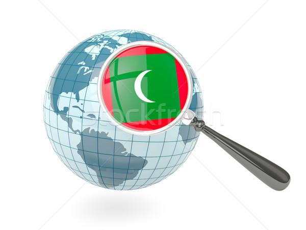 флаг Мальдивы синий мира изолированный Сток-фото © MikhailMishchenko