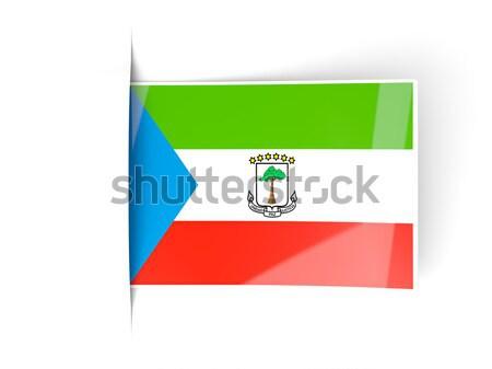 Postage stamp icon of equatorial guinea Stock photo © MikhailMishchenko