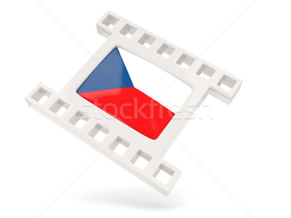 Movie icon with flag of czech republic Stock photo © MikhailMishchenko