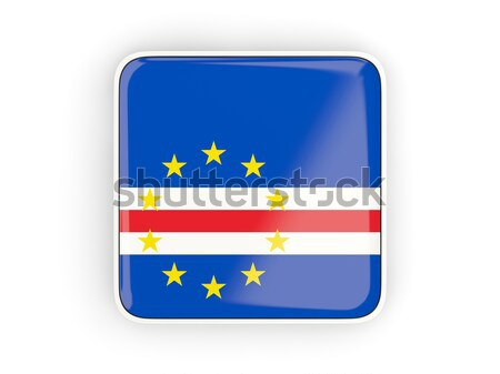Flag label of cape verde Stock photo © MikhailMishchenko