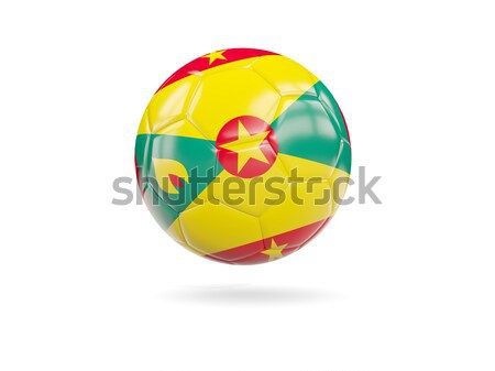 Football with flag of guinea bissau Stock photo © MikhailMishchenko