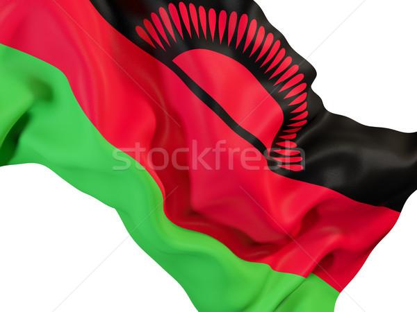 Vlag Malawi 3d illustration reizen Stockfoto © MikhailMishchenko