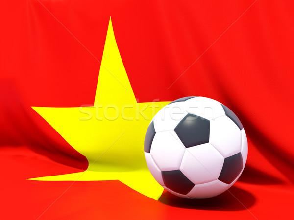 флаг Вьетнам футбола команда стране Сток-фото © MikhailMishchenko