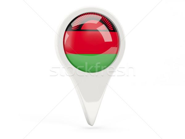 флаг икона Малави изолированный белый карта Сток-фото © MikhailMishchenko