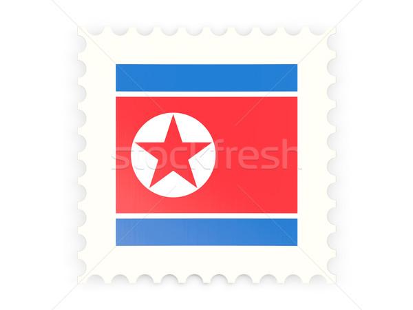 почтовая марка икона север изолированный белый знак Сток-фото © MikhailMishchenko