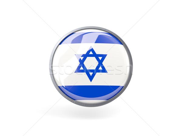 икона флаг Израиль металл кадр путешествия Сток-фото © MikhailMishchenko