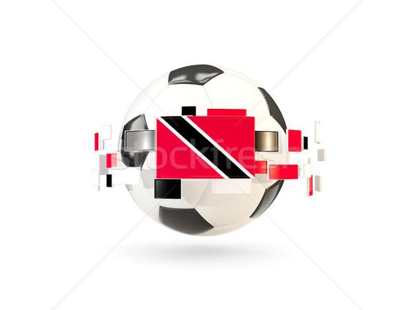 サッカーボール 行 フラグ フラグ 周りに ストックフォト © MikhailMishchenko