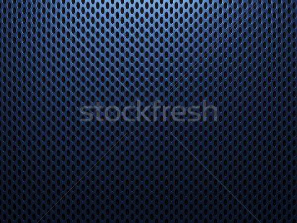 Niebieski metal Język przemysłowych czarny stali Zdjęcia stock © MikhailMishchenko