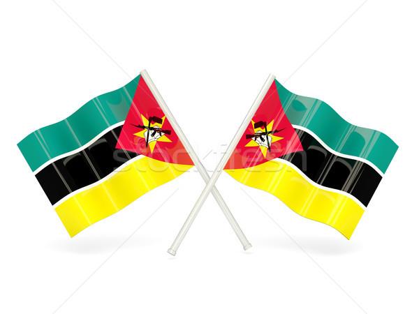 Flag of mozambique Stock photo © MikhailMishchenko