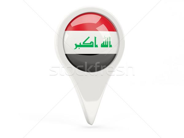 Round flag icon of iraq Stock photo © MikhailMishchenko