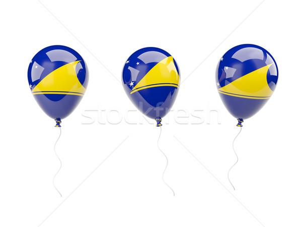 Air balloons with flag of tokelau Stock photo © MikhailMishchenko