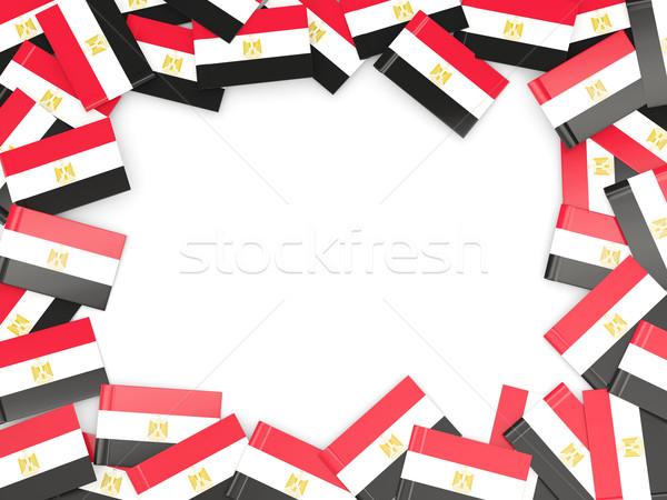 Frame with flag of egypt Stock photo © MikhailMishchenko