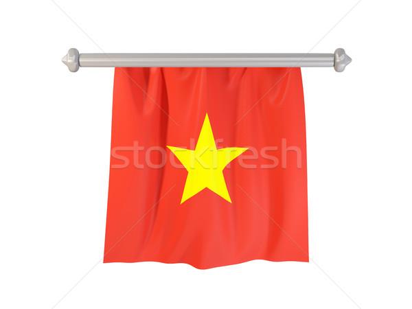 Pennant with flag of vietnam Stock photo © MikhailMishchenko