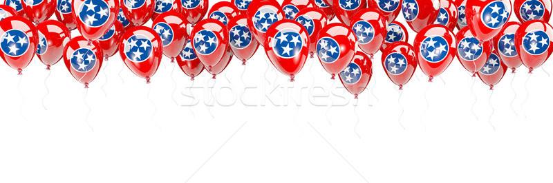 Ballons cadre pavillon Tennessee États-Unis locale Photo stock © MikhailMishchenko