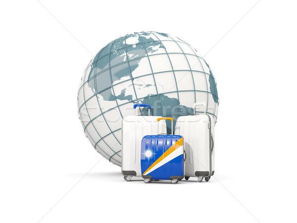 荷物 フラグ 島々 3  袋 世界中 ストックフォト © MikhailMishchenko