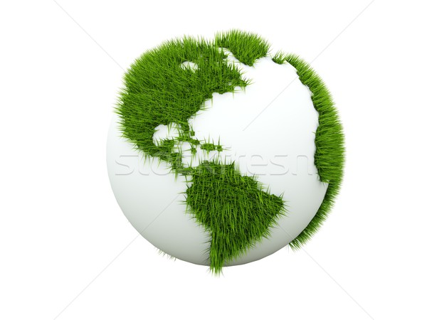 Concept of green earth Stock photo © MikhailMishchenko