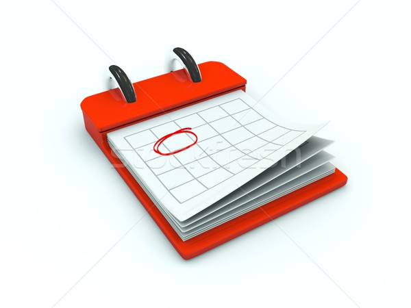 Calendar icon Stock photo © MikhailMishchenko