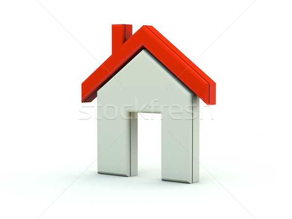 Home icon Stock photo © MikhailMishchenko