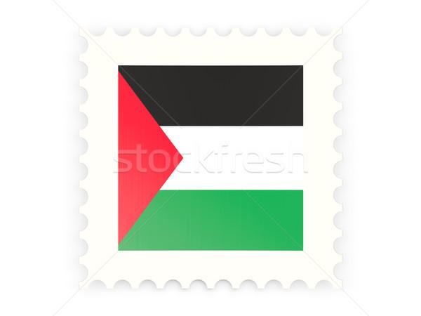 Postage stamp icon of palestinian territory Stock photo © MikhailMishchenko