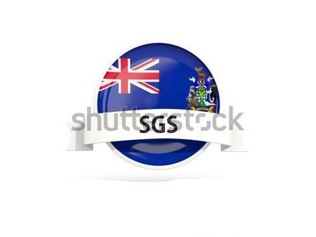 Round icon of flag of montserrat Stock photo © MikhailMishchenko