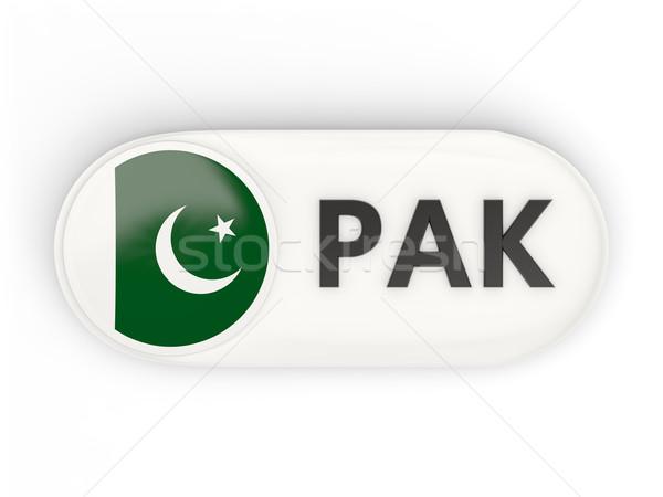 Ikon zászló Pakisztán iso kód vidék Stock fotó © MikhailMishchenko