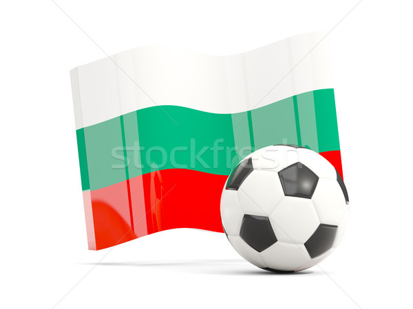 Football pavillon isolé blanche 3d illustration Photo stock © MikhailMishchenko