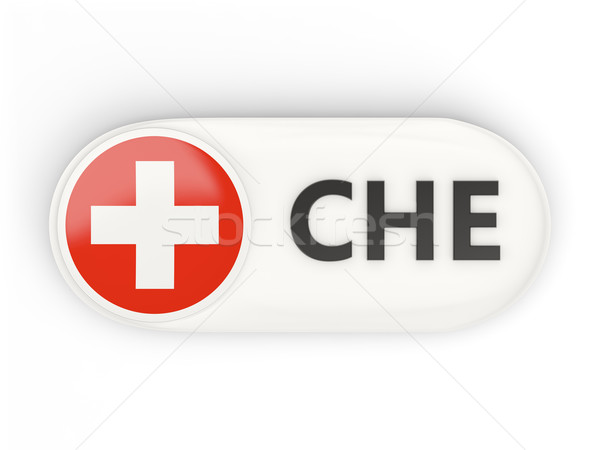 Ikona banderą Szwajcaria iso kodu podpisania Zdjęcia stock © MikhailMishchenko