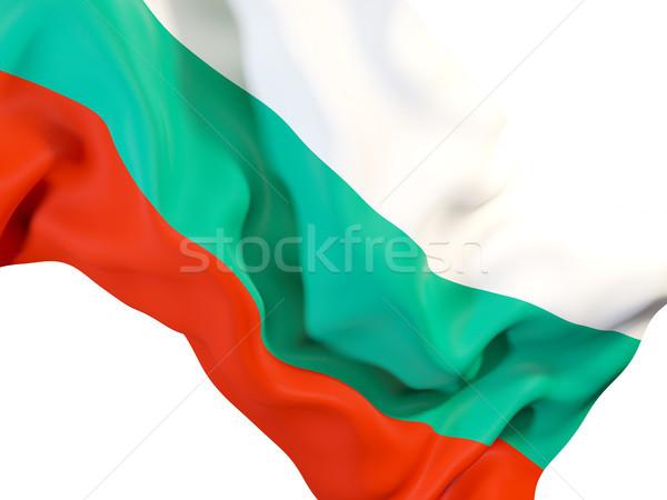 フラグ ブルガリア クローズアップ 3次元の図 旅行 ストックフォト © MikhailMishchenko