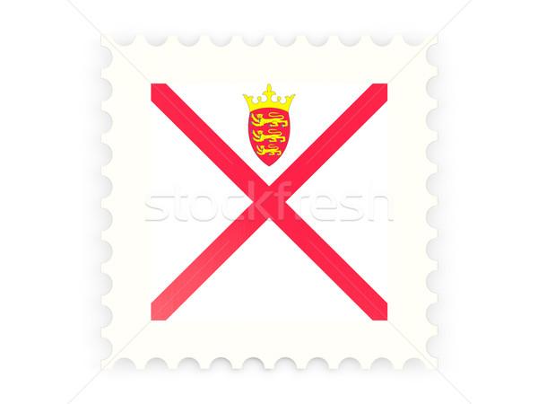 Postage stamp icon of jersey Stock photo © MikhailMishchenko