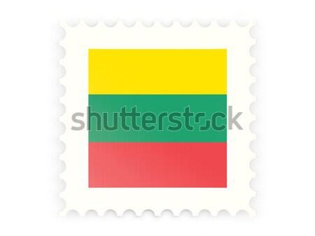 Postage stamp icon of lithuania Stock photo © MikhailMishchenko