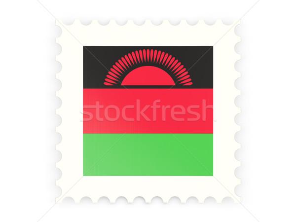 почтовая марка икона Малави изолированный белый знак Сток-фото © MikhailMishchenko