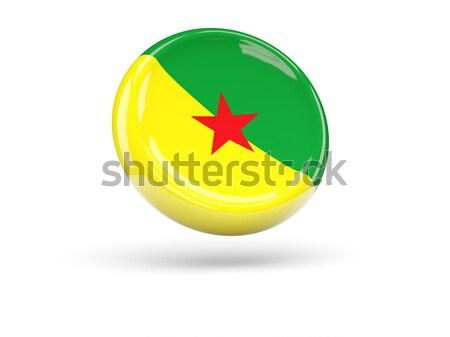 икона флаг Камерун изолированный белый путешествия Сток-фото © MikhailMishchenko