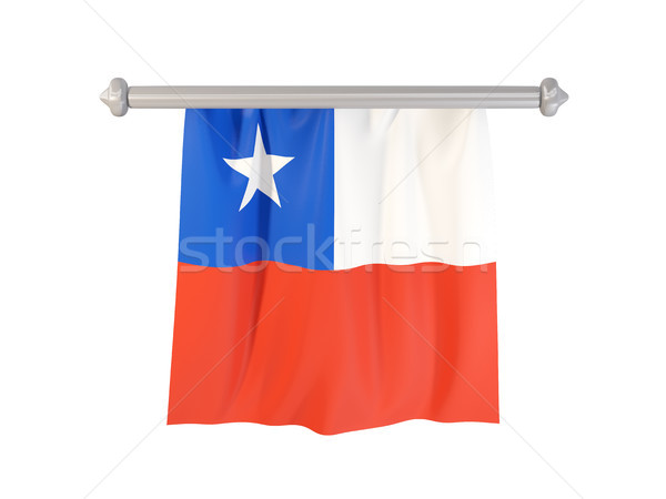 Pennant with flag of chile Stock photo © MikhailMishchenko