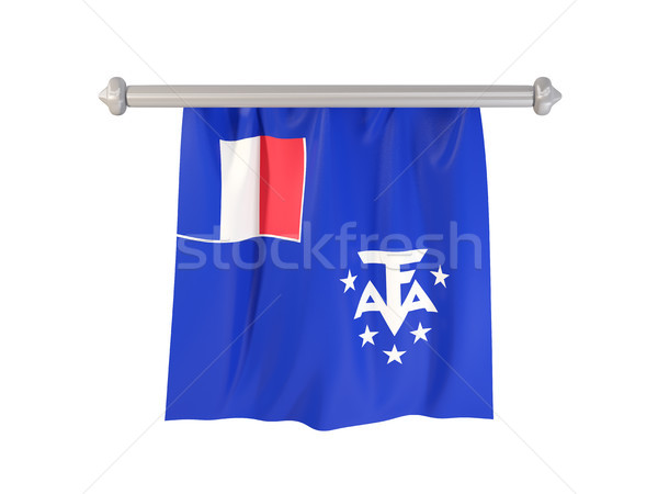 Pennant with flag of french southern territories Stock photo © MikhailMishchenko