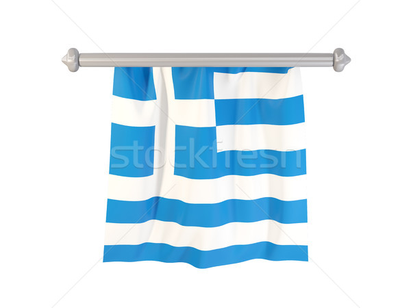 Pennant with flag of greece Stock photo © MikhailMishchenko