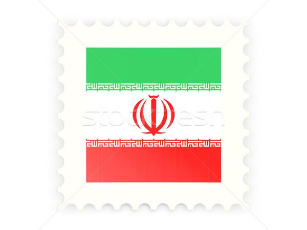 Postage stamp icon of iran Stock photo © MikhailMishchenko