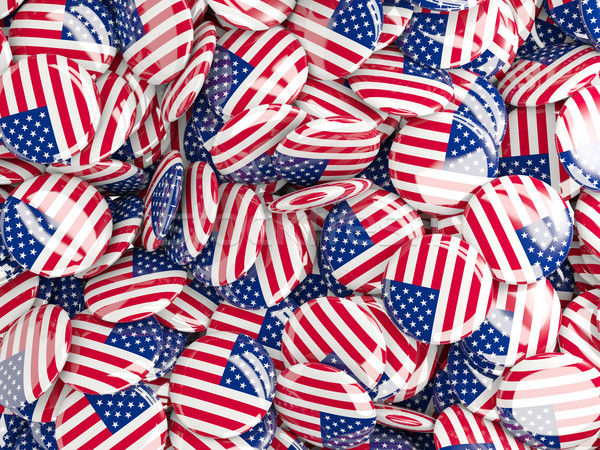 Zászló Egyesült Államok Amerika világ háttér vidék Stock fotó © MikhailMishchenko