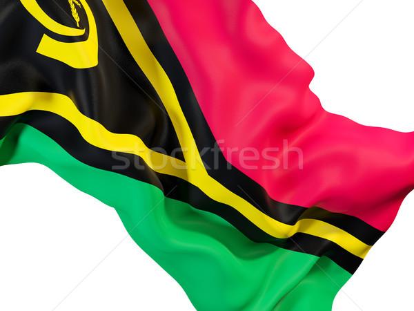 Waving flag of vanuatu Stock photo © MikhailMishchenko